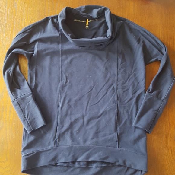 Lucy Tops - 《 Lucy 》 Cowl Neck Sweatshirt